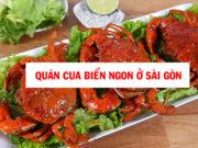 Top 8 quán cua biển ngon ở Sài Gòn ai cũng nên ghé