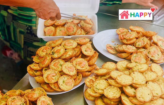 Bánh Khọt làm ở tiệm Hải Âu