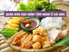 Top những quán bún đậu mắm tôm ngon ở Sài Gòn