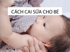 Cách cai sữa cho bé