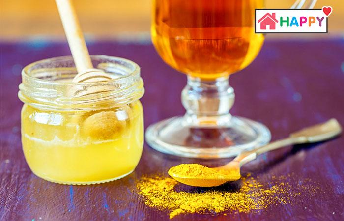 Tinh bột nghệ mật ong có tác dụng bổ máu, làm cho làn da mẹ đẹp hơn