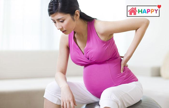 Khi mang thai 24 tuần bà bầu có thể gặp buồn nôn, đau lưng hoặc chóng mặt thường xuyên