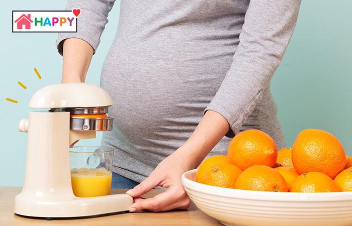 Mẹ cần áp dụng chế độ dinh dưỡng hợp lý trong giai đoạn sau của thai kỳ