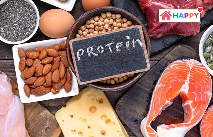 Protein sẽ giúp bé phát triển cơ thể và não bộ ở giai đoạn cuối thai kỳ